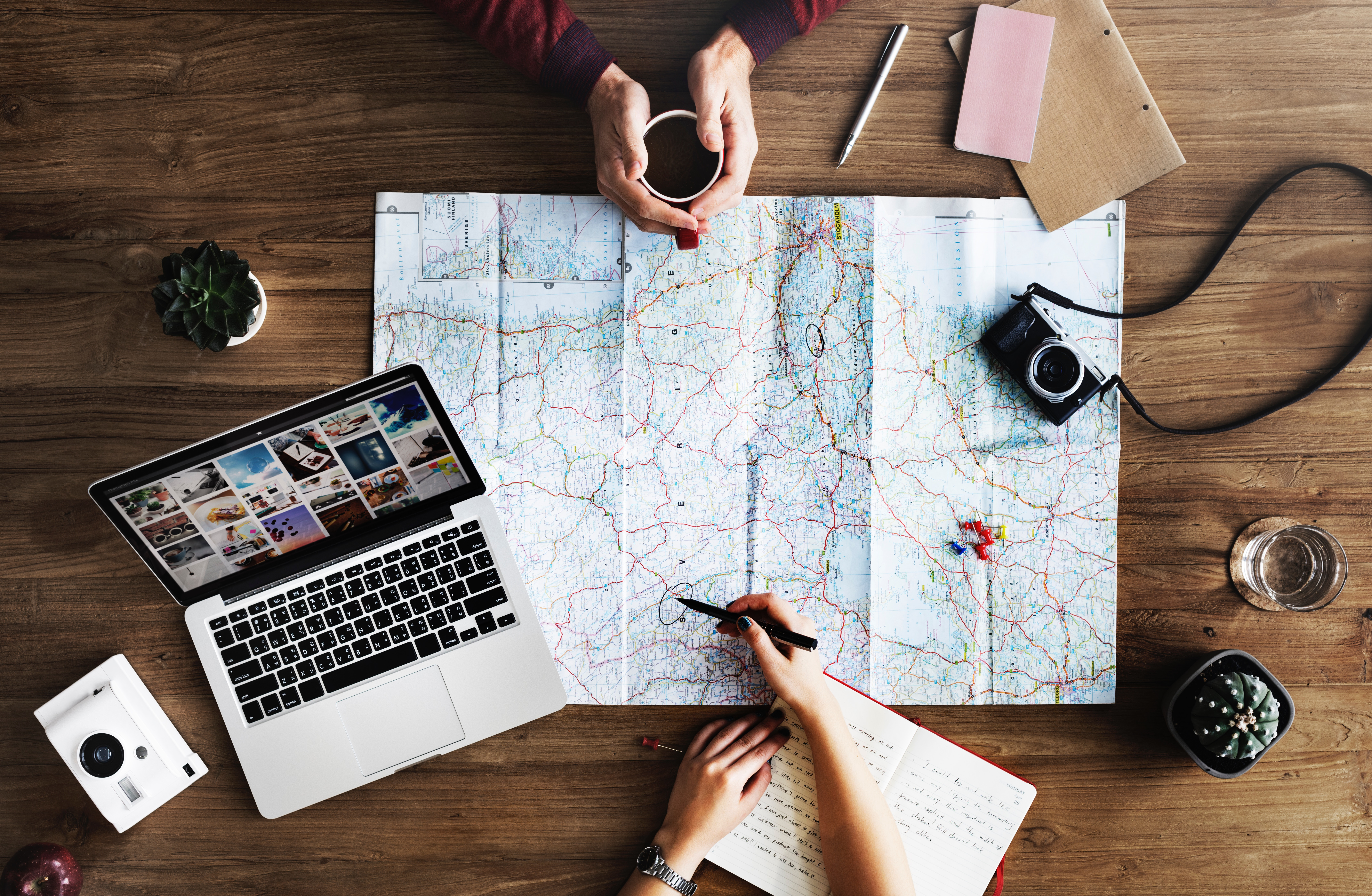 Making the ultimate travel bucket list!