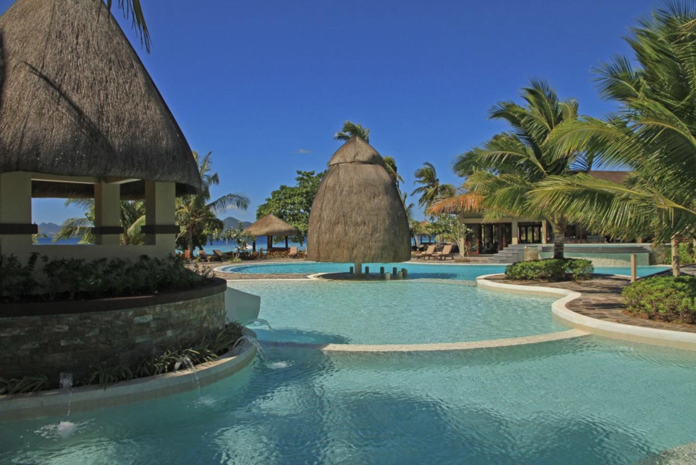 pool at two seasons island resort in coron