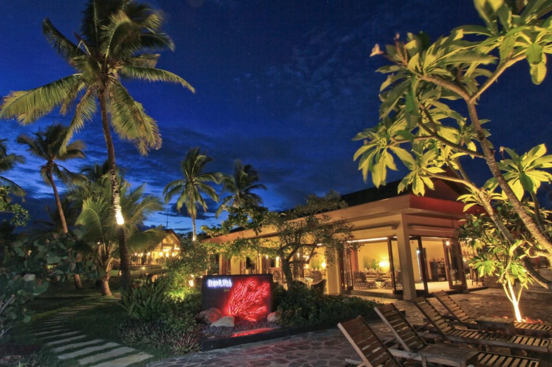 restaurant at two seasons island resort in coron