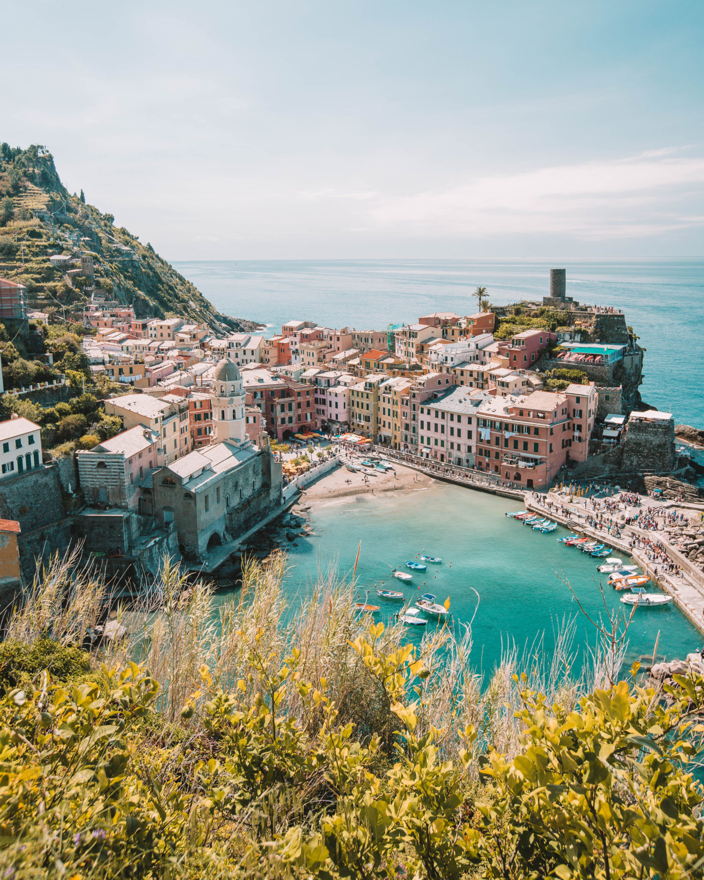 The Ultimate Guide to Cinque Terre by train!