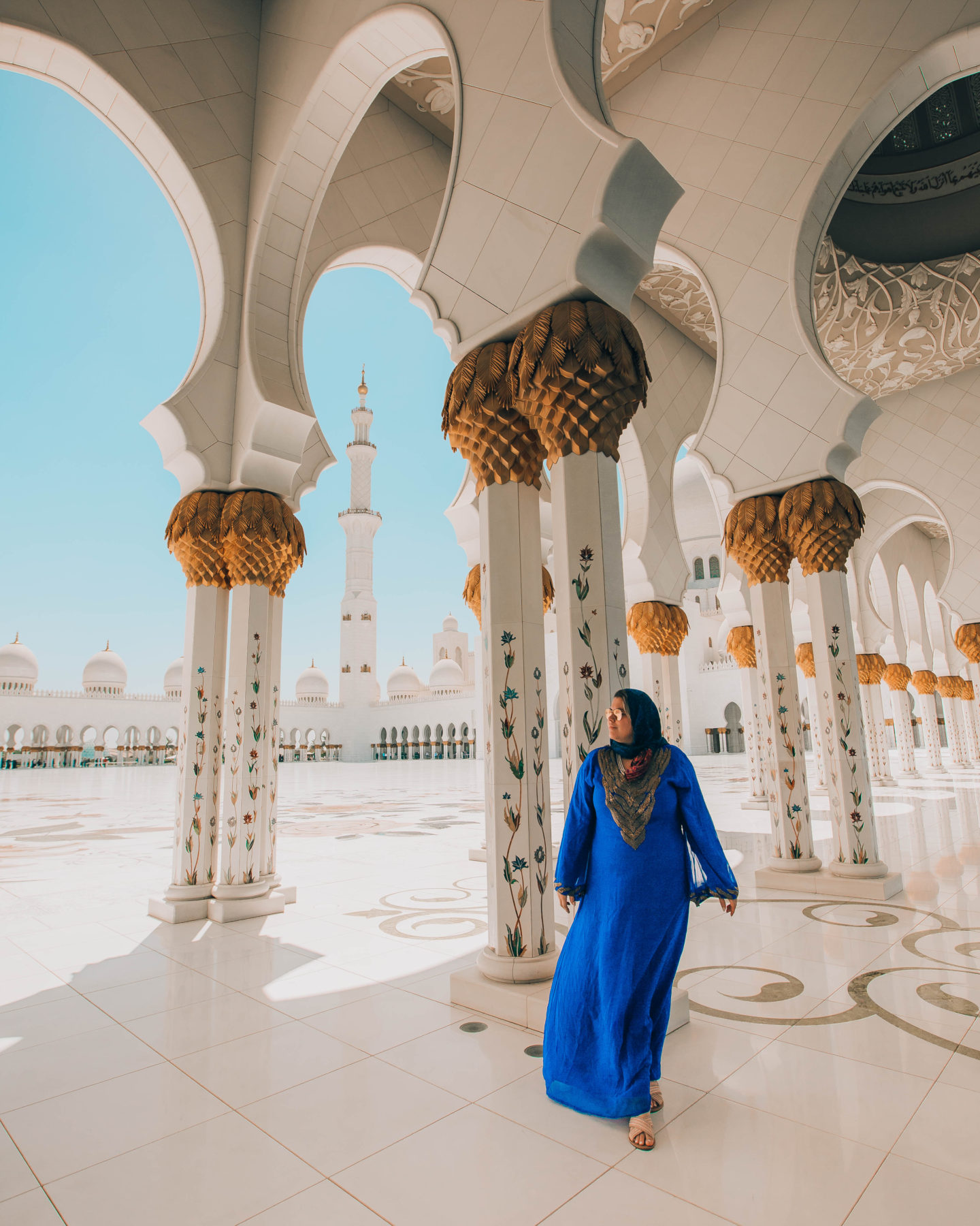 Sheikh Zayed Grand Mosque - the perfect day trip from Dubai