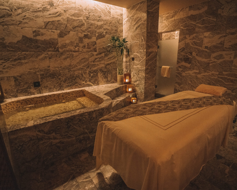 spa room at the Four Seasons Sharm El Sheikh