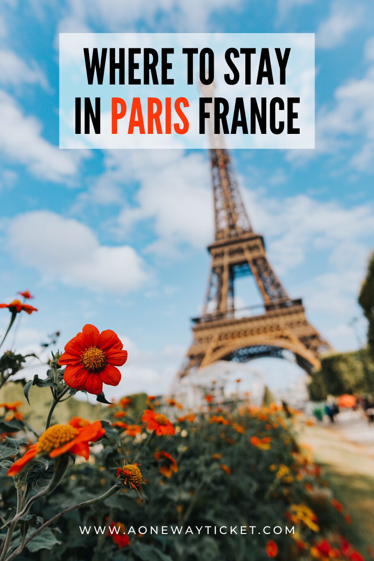 where to stay in paris france