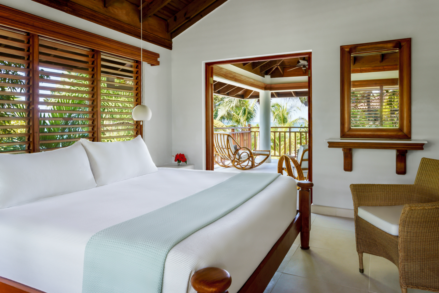 room interior at couples swept away jamaica