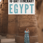 karnak temple in luxor | egypt itinerary