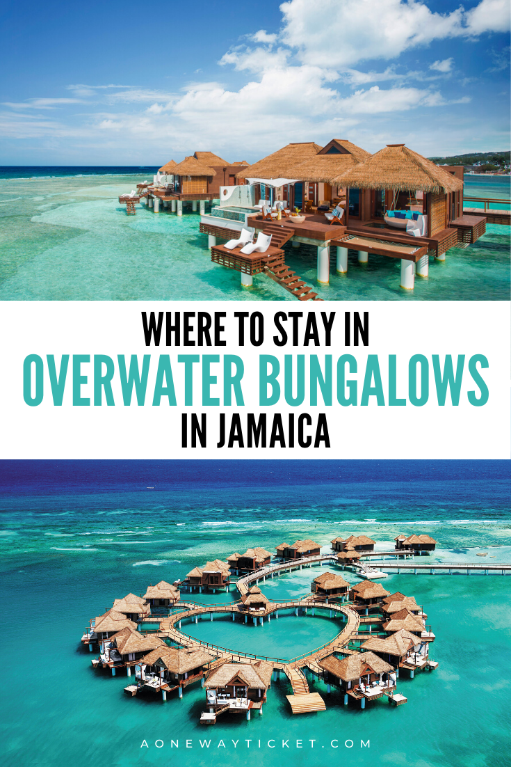 overwater bungalows in jamaica at all inclusive resorts