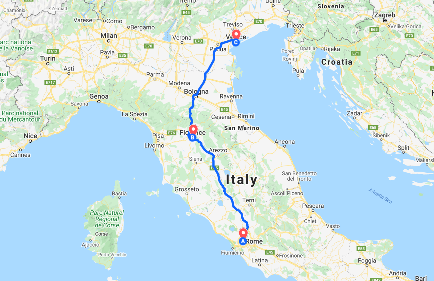 Classic 10-Day Italy Itinerary