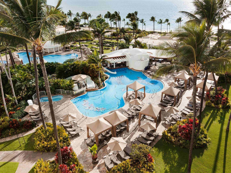 fairmont maui resort pool area