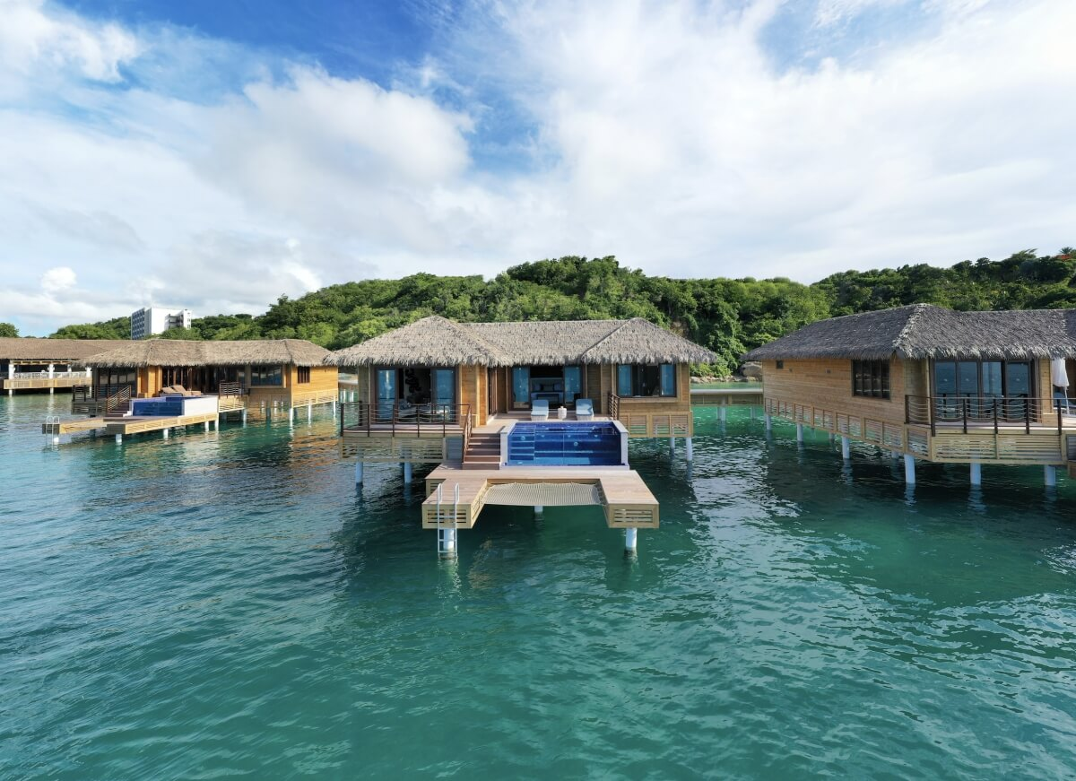 overwater bungalow at royalton antigua best overwater bungalows in the caribbean