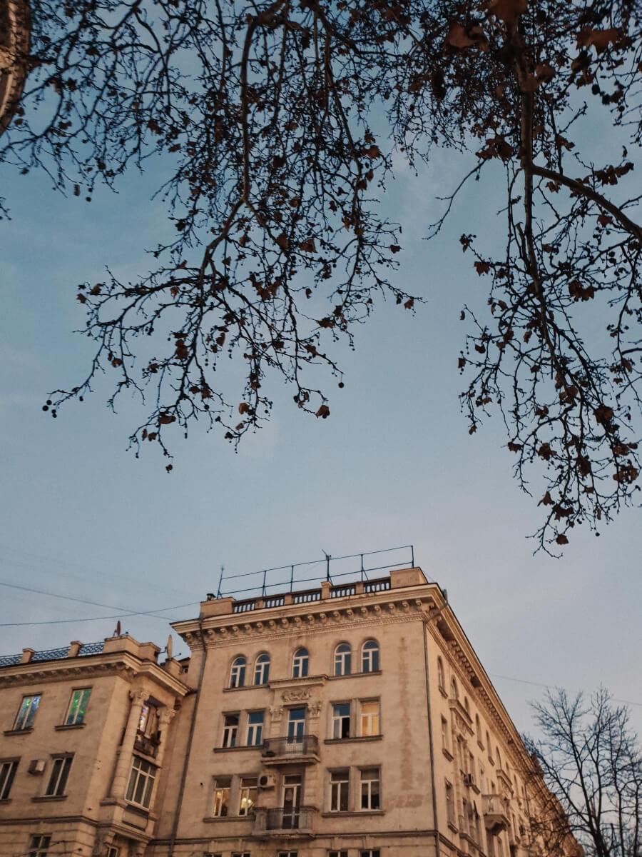 moldova building in chisnau