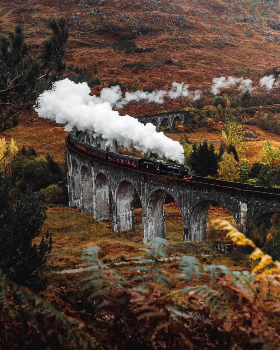 glenfinnan viaduct scotland europe bucket list