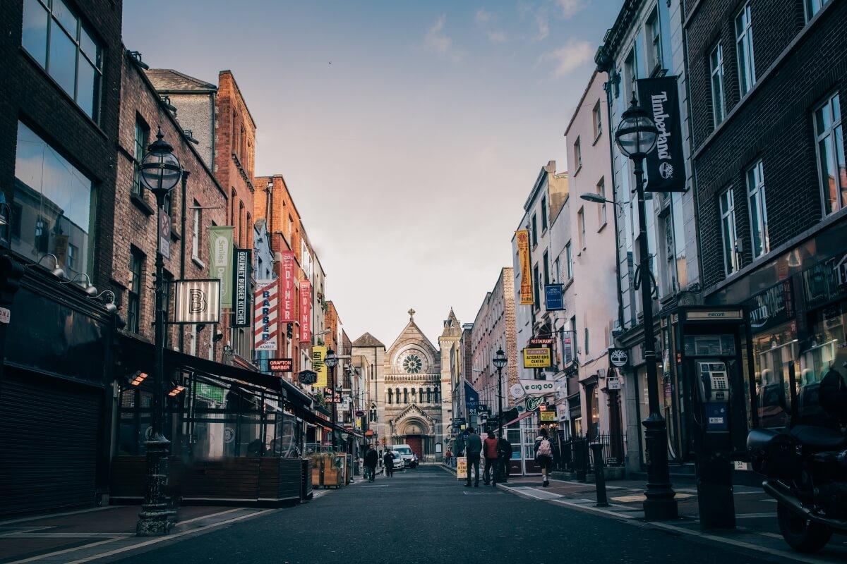 dublin ireland street best of europe