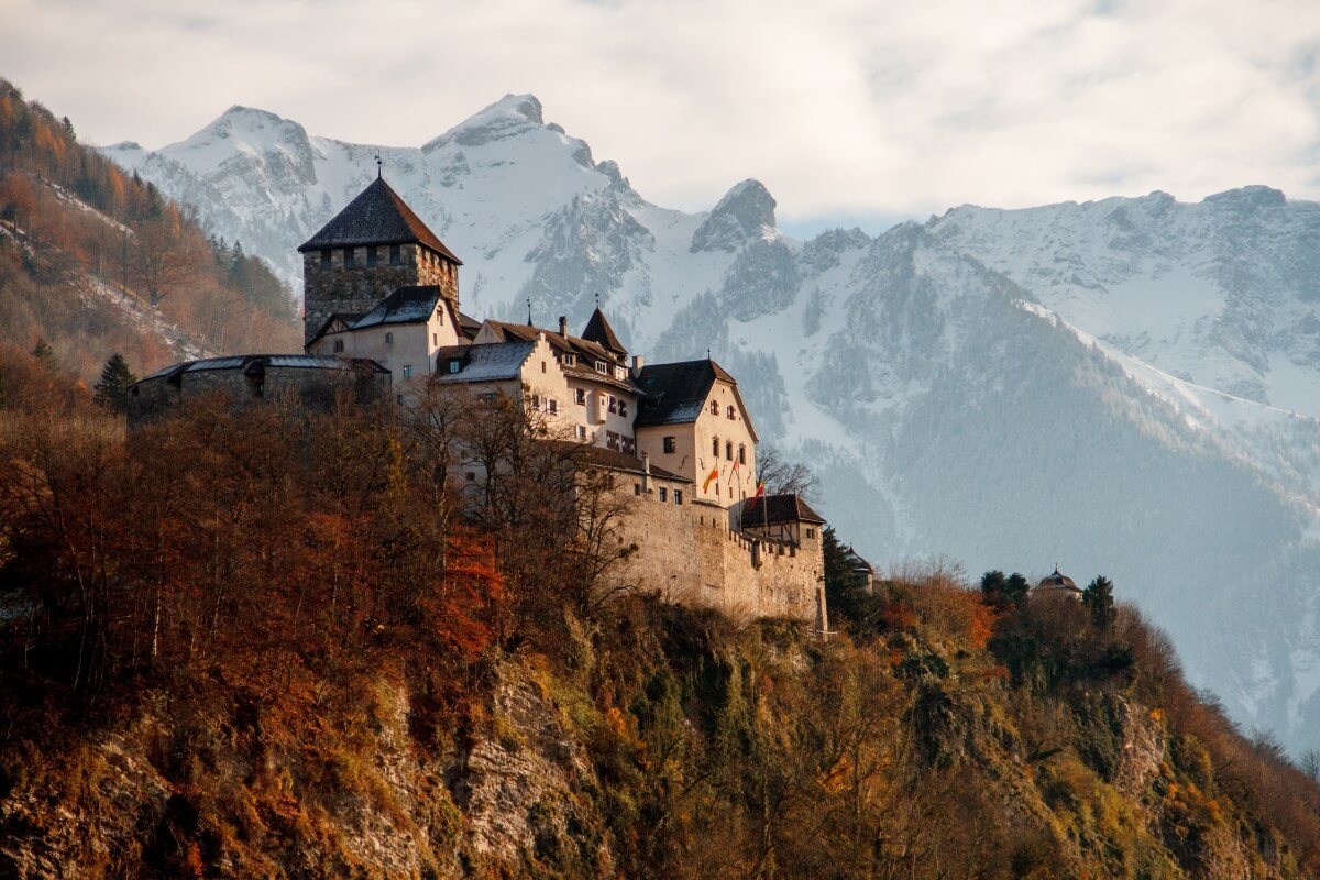 vaduz castle liechtenstein europe bucket list
