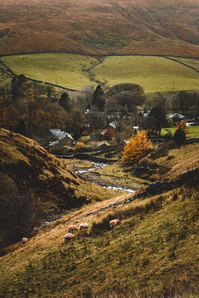 english countryside european bucket list