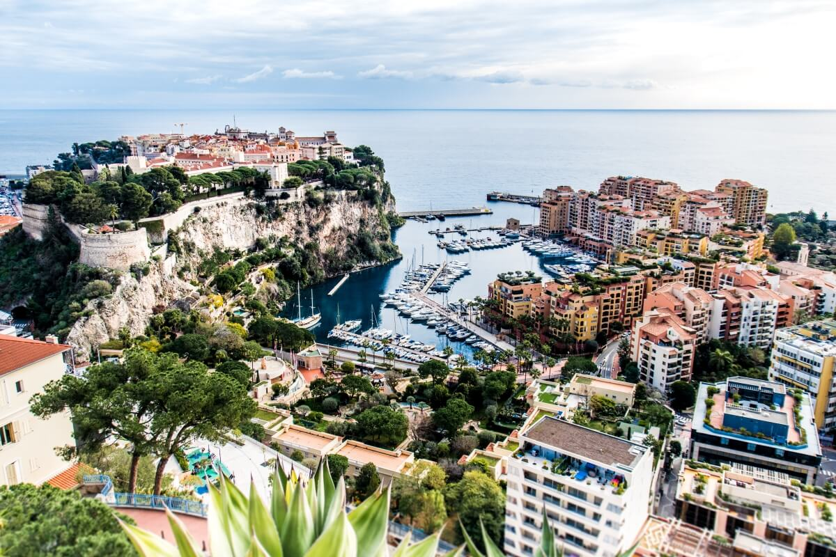 harbor in monaco europe