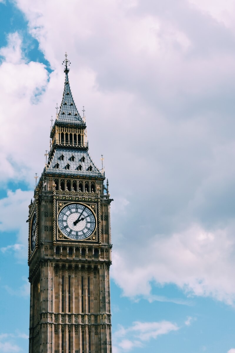 big ben london england european bucket list