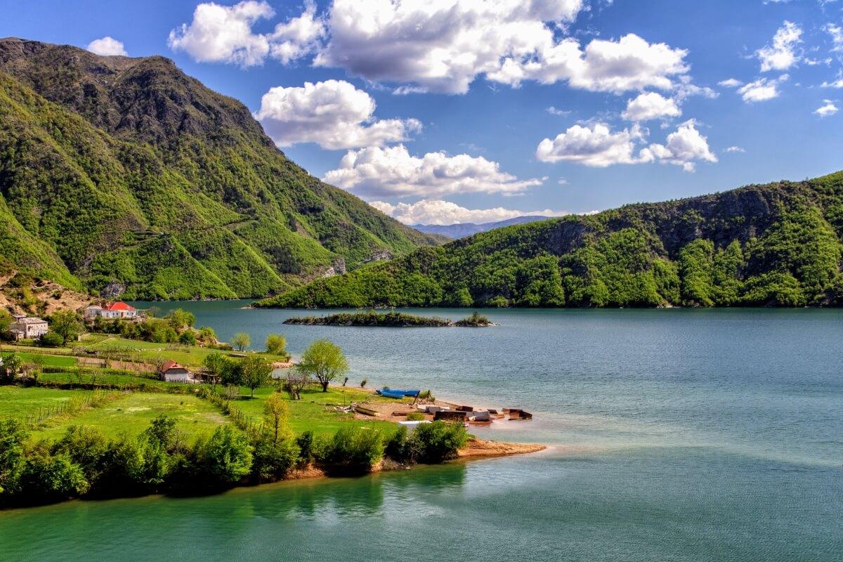albania lake