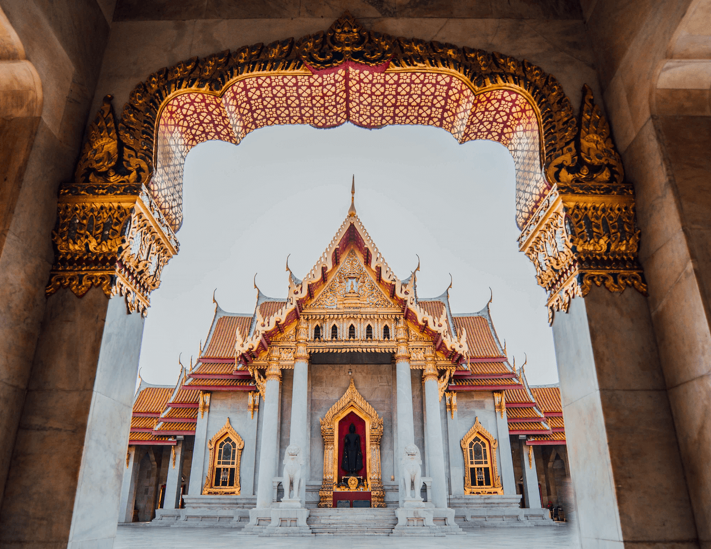 10 days in thailand - wat benchamabophit