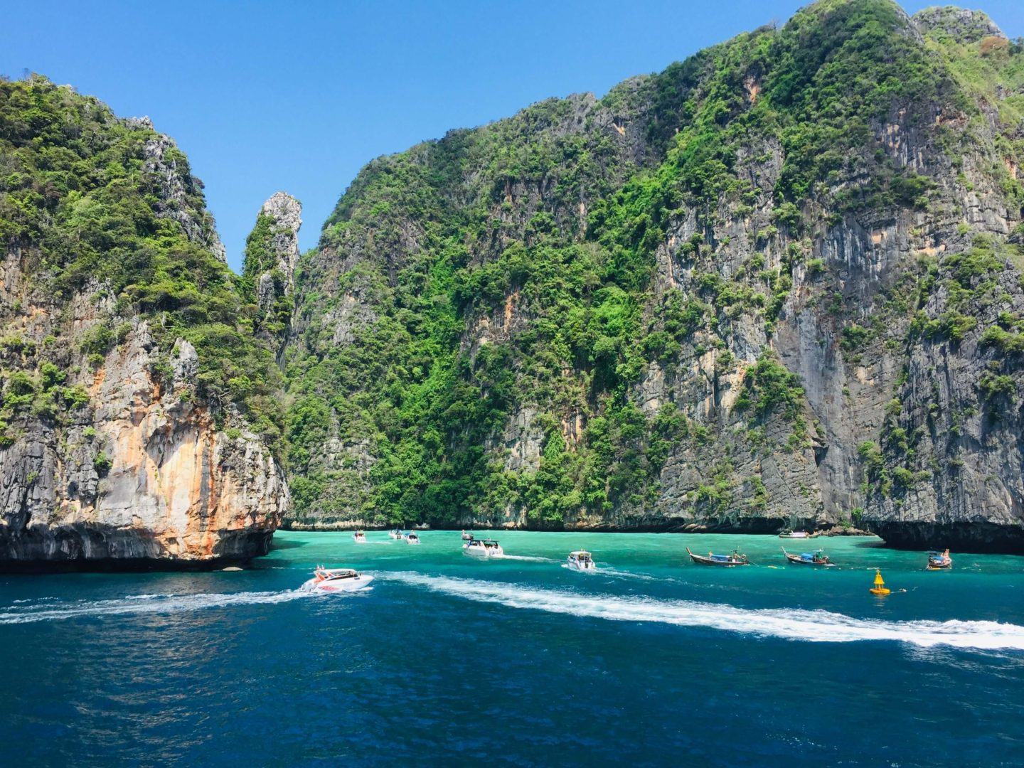 10 day thailand itinerary - phi phi islands