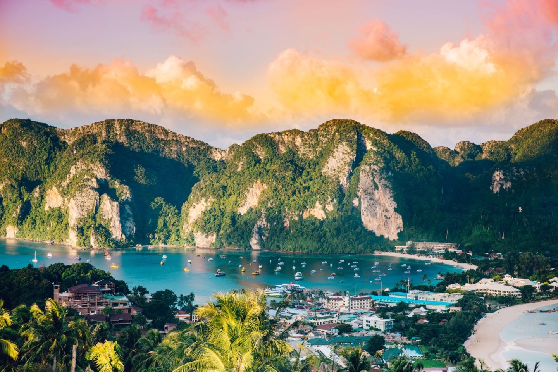 10 day thailand itinerary - phi phi harbor