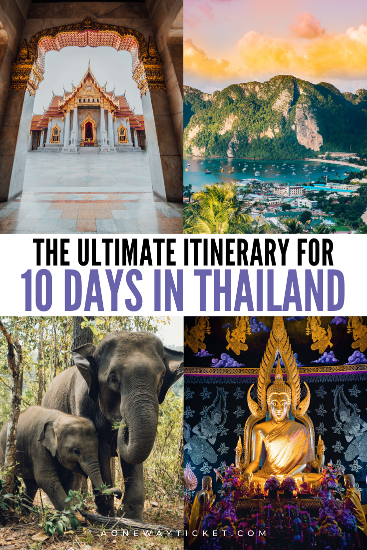10 day thailand itinerary