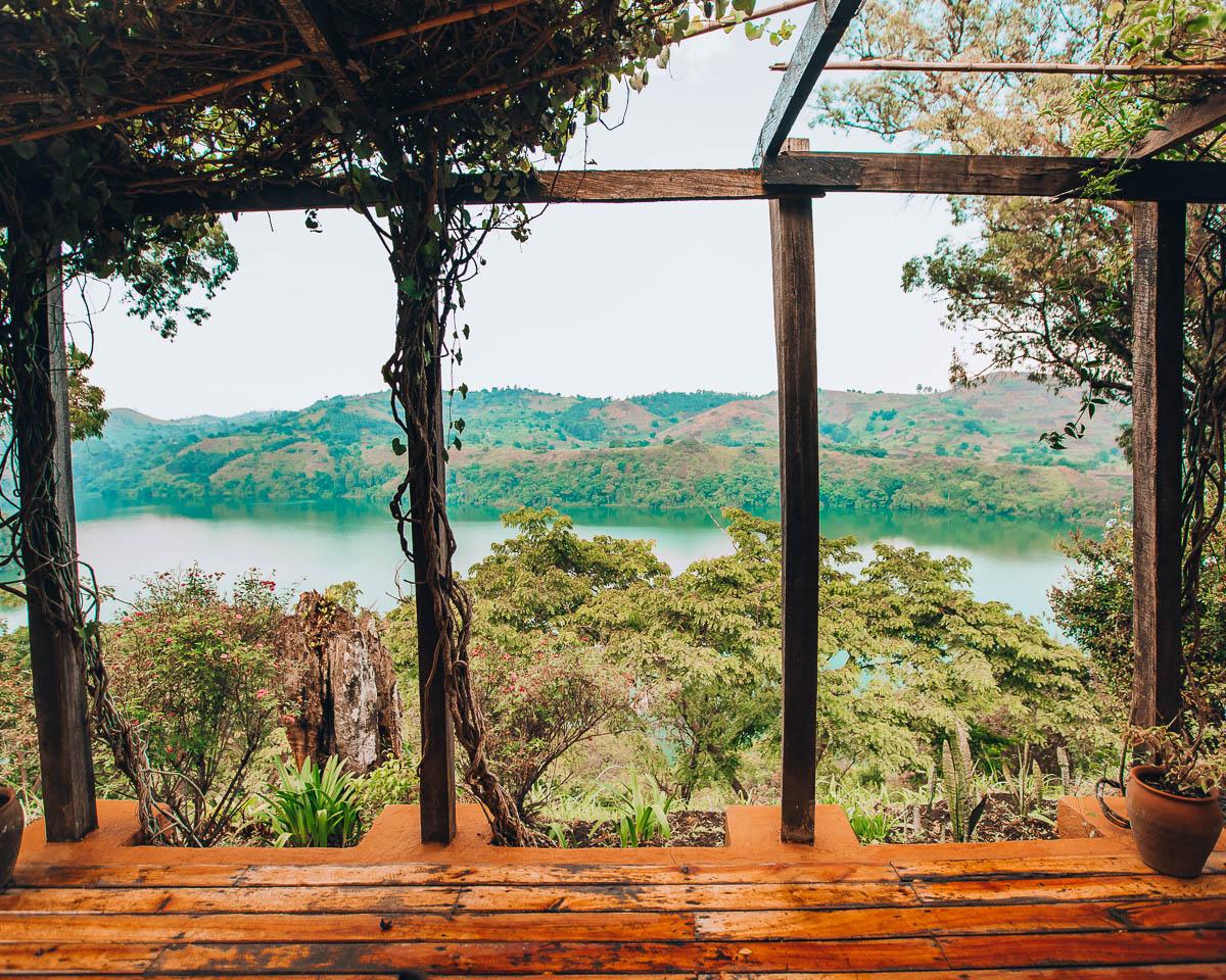 ndali lodge deck view kibale national park uganda itinerary