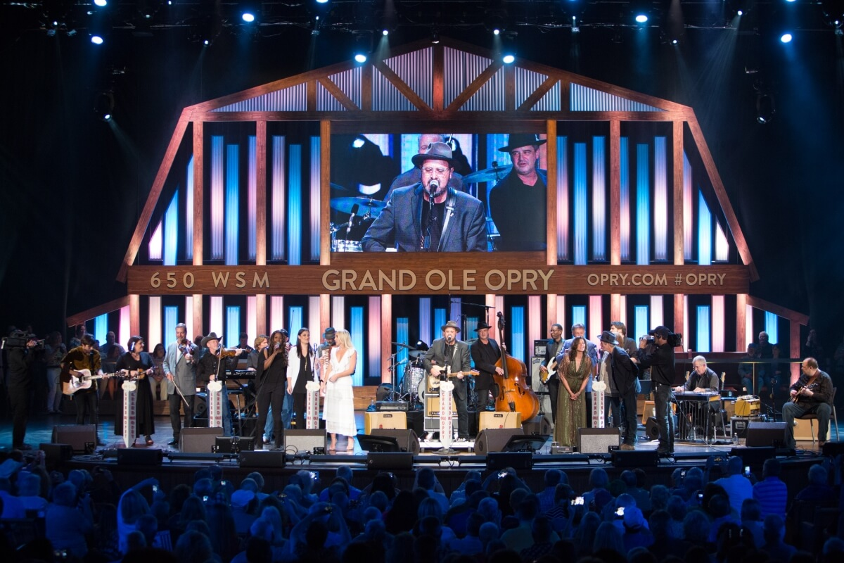 Grand Ole Opry performance in Nashville