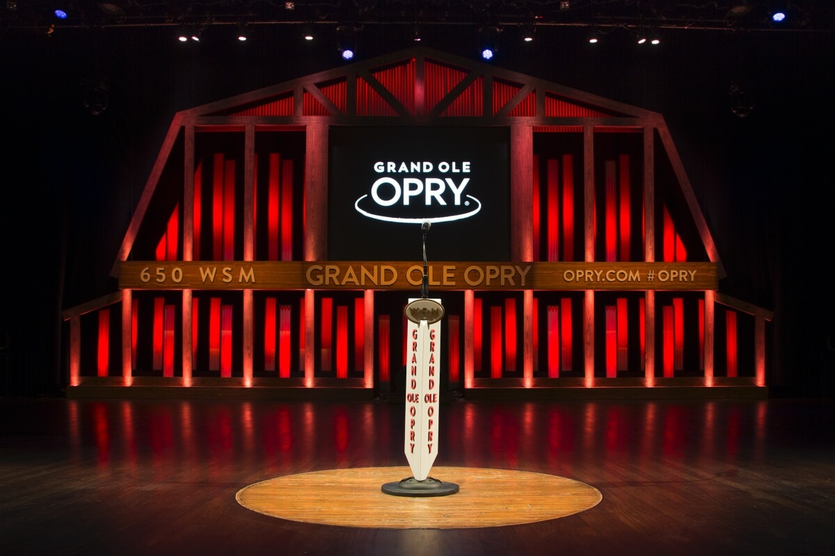 Grand Ole Opry stage 3 days in Nashville