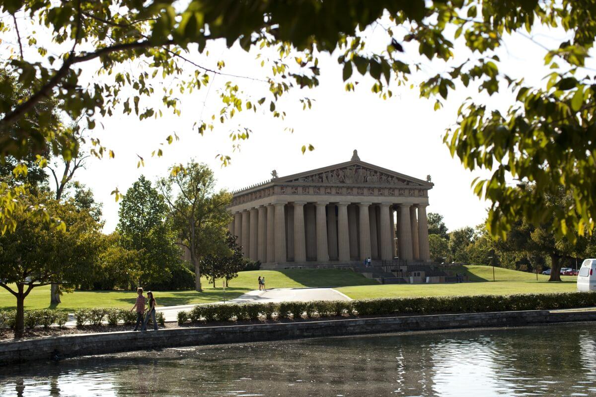 Parthenon at Centennial Park in Nashville 3 days