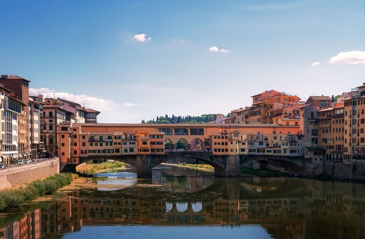 florence from the river italy itinerary