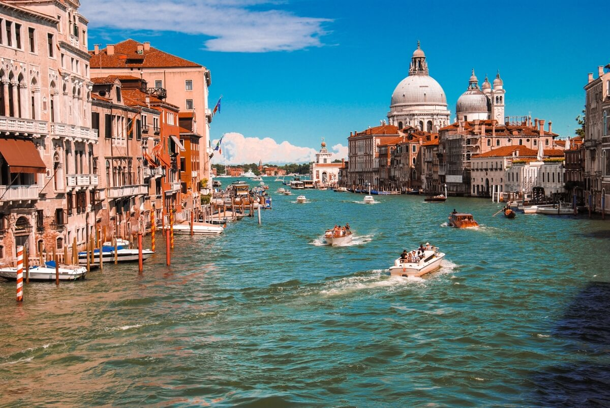 venice grand canal 10 day italy itinerary