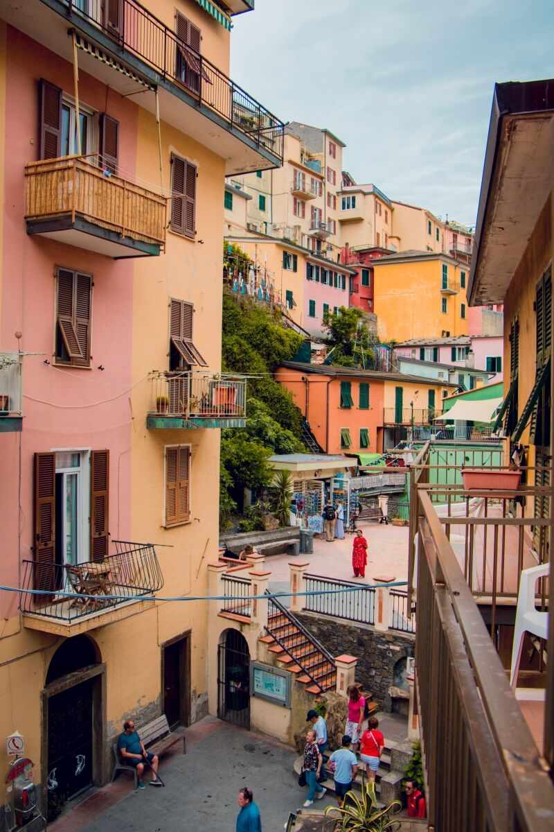 colorful streets of cinque terre italy itinerary