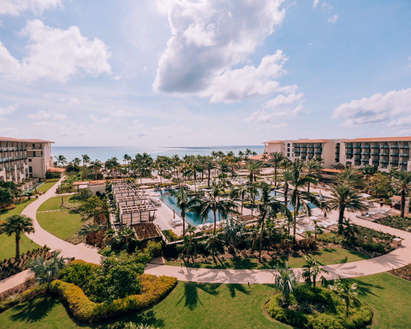 The view from the balcony at UNICO 2087 Riviera Maya